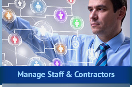 Contractor and Staff Management